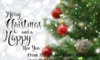 Happy Holidays from The Global Talent Mine Team